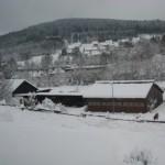Der Bauernhof im Winter